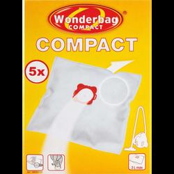 Sacs pour aspirateurs universel WB305120, WONDERBAG Compact, 5 unités