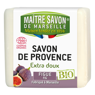 Savon bio figue MAITRE SAVON DE MARSEILLE, 100g