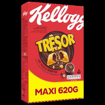 Kellogg's Céréales Tresor Chocolat Noisette Kellogg's, Paquet De 620g