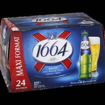 1664 Bière Blonde 1664, 5,5°, 24x25cl
