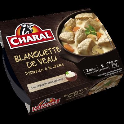 Blanquette de veau à la crème, CHARAL, 300g