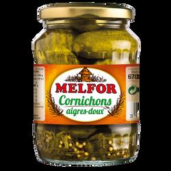 Cornichons aigre doux MELFOR 540g