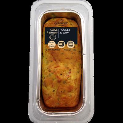 Cake au poulet et au curry, 260g