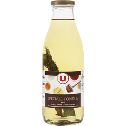 Spéciale fondue huile végétale et aux plantes aromatiques U, bouteillede 1 litre
