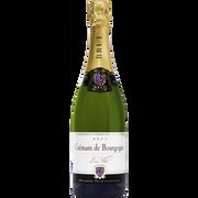 Brut Crémant De Bourgogne Brut Blanc Aop Louis Villot U, Bouteilles De 75cl