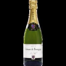 Brut Vin Blanc Aoc Crémant De Bourgogne  Louis Villot U, Bouteille De75cl