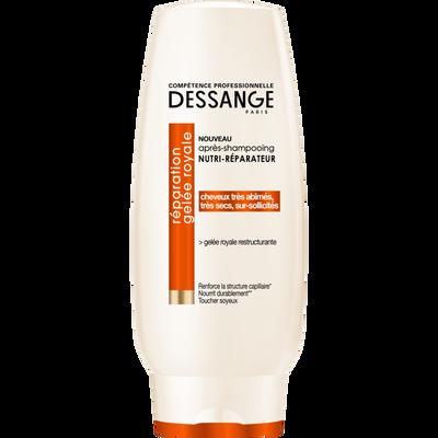 Après shampooing nutri-réparateur réparation gelée royale DESSANGE, flacon de 200ml