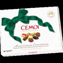 Cémoi Chocolat Noeud Émeraude , Boîte De 445g