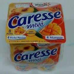 CARESSE PECHE/PASSION, MANGUE 8X125G
