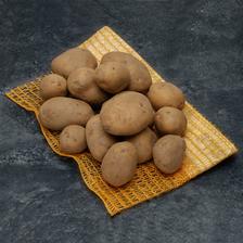 Pomme de terre Rikéa, Primeur, de consommation, BIO, Calibre 28mm/+, catégorie 2, France, Sachet 1kg