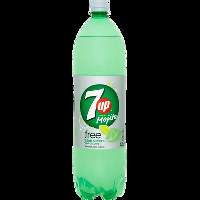 SEVEN UP mojito free, bouteille de 1,5l
