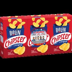 Chipster salé BELIN, 3 paquets de 75g