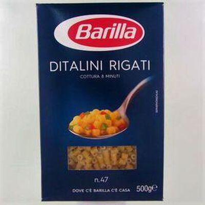 Pâtes Ditalini Rigati BARILLA,500g