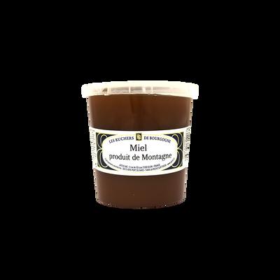 Miel de montagne LES RUCHERS DE BOURGOGNE, pot de 1kg