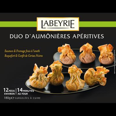 Duo daumônières apéritives LABEYRIE, x12 soit 180g