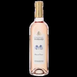"""Vin rosé AOP Côtes de Provence """"Château Pansard"""" ble de 75cl"""