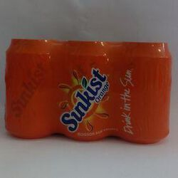 SUNKIST ORANGE BTE 6X33CL