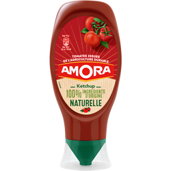 Ketchup naturel AMORA, 469g