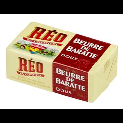 Beurre doux de baratte REO, plaquette de 250g