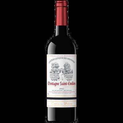 Montagne Saint-Emilion AOC rouge COMTE DE VALOIS, bouteille de 75cl
