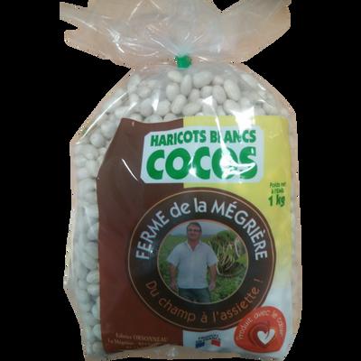 Haricot coco blanc, sachet, 1kg