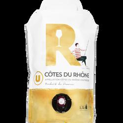 Vin blanc Côtes du Rhône AOP U, 1,5l