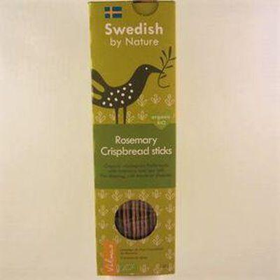 Lamelles de pain croustillant au romarin SWEDISH BY NATURE, 120g