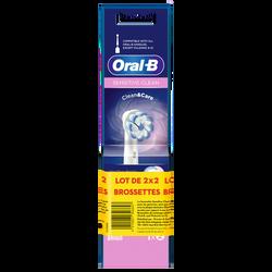 Brossettes sensitive ORAL B POWER 2x2