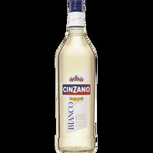 Apéritif Bianco CINZANO, 14°, bouteille de 1l