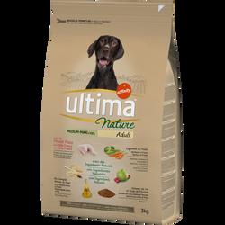 Croquettes pour chiens médium-maxi au poulet ULTIMA NATURE, 3kg
