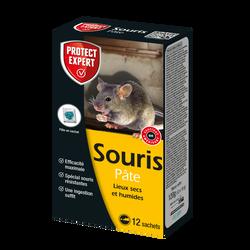 Souricide PROTECT EXPERT pâte appât 120g