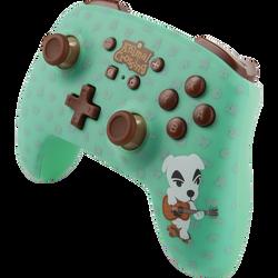 Manette sans fil pour NINTENDO switch Animal Crossing KK slider powerA