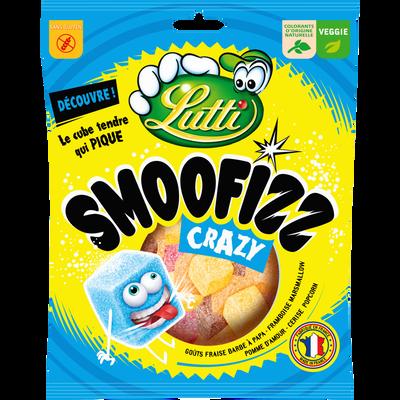 Smoofizz crazy LUTTI, paquet de 200g