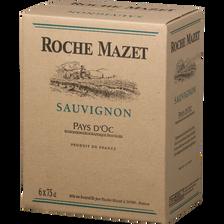 Roche Mazet Vin Blanc Igp Pays D'oc Sauvignon , 2017, 6x75cl