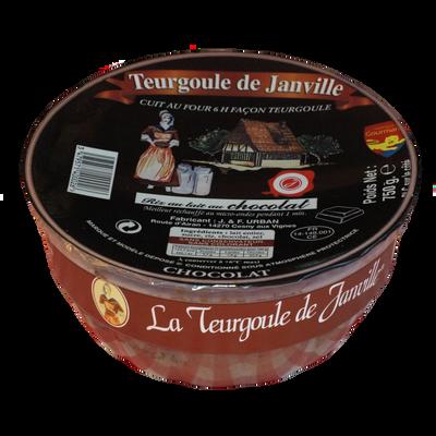 Dessert de riz au lait au chocolat TEURGOULE DE JANVILLE, 750g