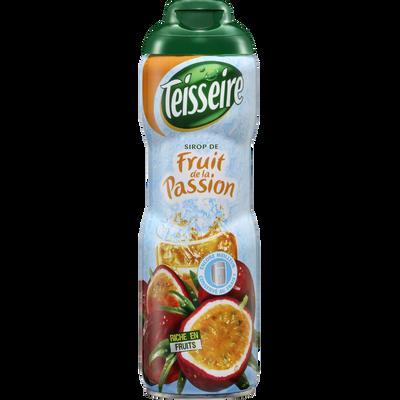 Sirop fruit de la passion TEISSEIRE, bidon de 60cl