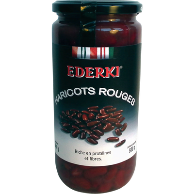 Haricots rouges EDERKI, 660g