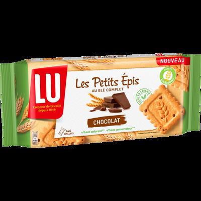 Biscuits les petits épis chocolat LU, 300g