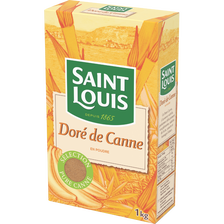 Sucre de canne doré ST LOUIS, 1kg