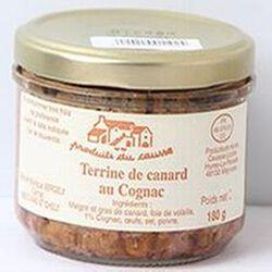 Terrine de canard au Cognac, Produits du causse, 180g