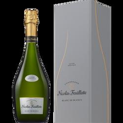 Champagne blanc de blancs cuvée spéciale NICOLAS FEUILLATTE en coffret75cl