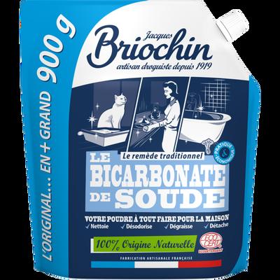 Nettoyant poudre Le bicarbonate de Soude BRIOCHIN, doypack de 900g