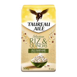 Riz parfumé aux 2 quinoa TAUREAU AILE, 500g