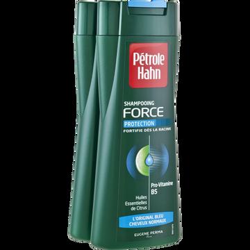 Petrole Hahn Shampooing Force L'original Bleu Cheveux Normaux Petrol Hahn, 2x250ml