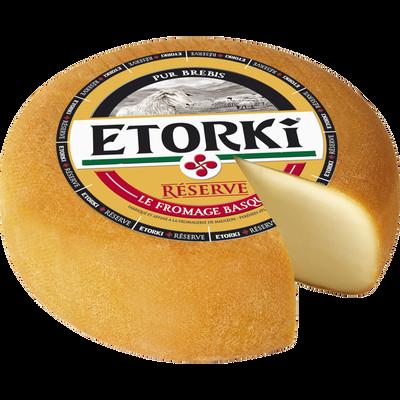 Fromage au lait pasteurisé de brebis ETORKI, 33%mg