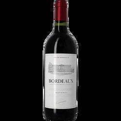 Bordeaux rouge AOP, bouteille de 75cl