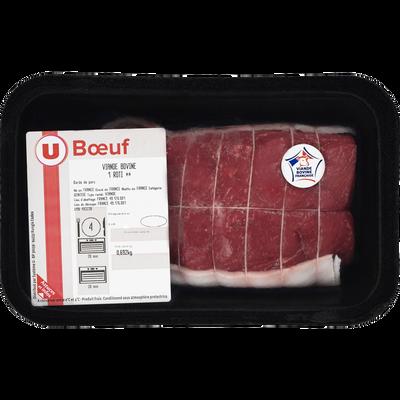 Viande bovine - Rôti ** Genisse, U, Nouvelle agriculture, France
