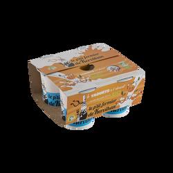 Yaourt à l'abricot bio, LE PETIT FERMIER DE KERVIHAN, 4x125g
