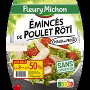 Fleury Michon Émincés De Poulet Rôti Fleury Michon, 2x2x75g Soit 300g