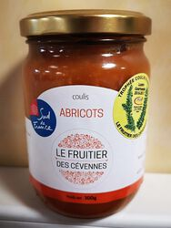 Coulis d'abricots, Le fruitier des cévennes, 300g